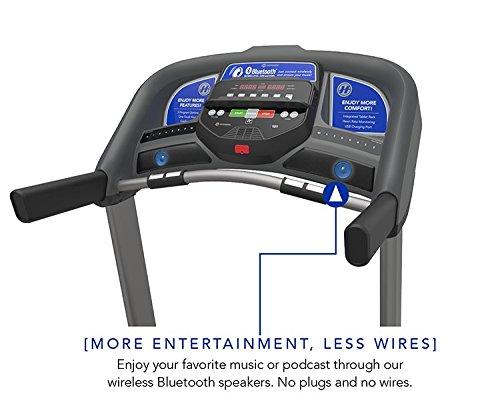 Horizon T101-05 Folding Treadmill, Black