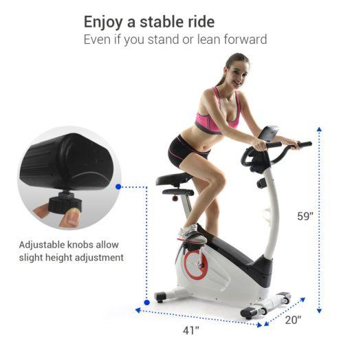 FitLeader UF1 Upright Exercise Bike