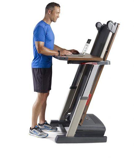 NordicTrack Treadmill Desk Platinum