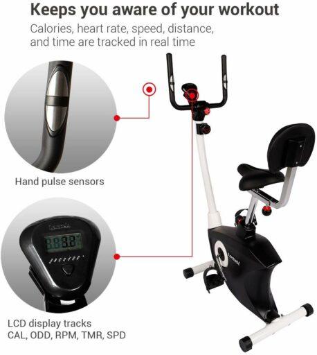 Loctek UF6M Upright Desk Exercise Bike