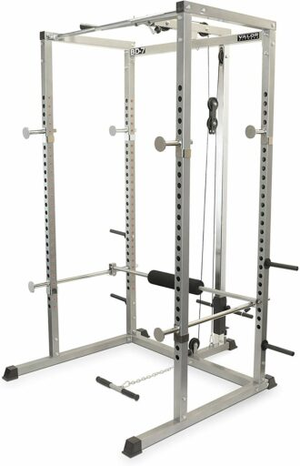 Valor Fitness BD-7 Power Rack with Lat Pull