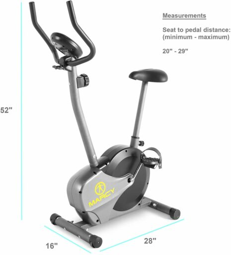 Marcy NS-714U Upright Bike