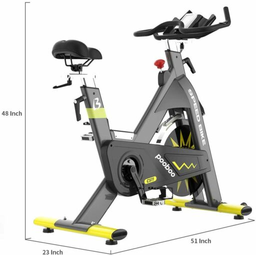 pooboo C511 Commercial Indoor Cycling Bike