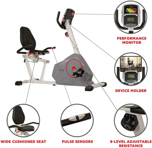 Sunny SF-RB4953 Recumbent Bike