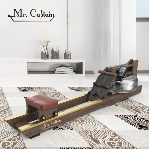 Mr. Captain Vintage Oak Water Resistance Rowing Machine