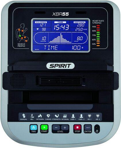 Spirit Fitness XBR55 Recumbent Bike