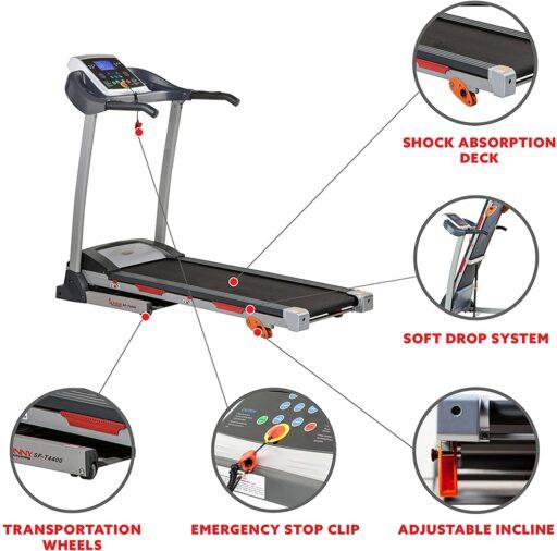 Sunny SF-T4400 Folding Treadmill
