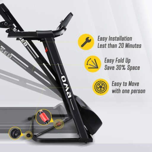 OMA 5105EB Folding Treadmill