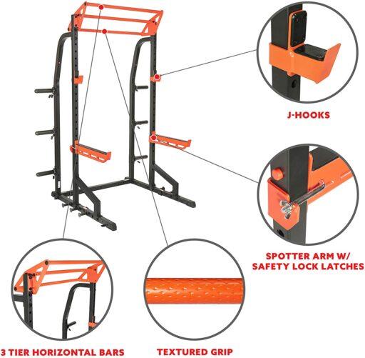 Sunny SF-XF9933 Half-Rack Power Cage