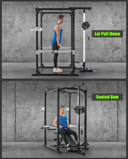 MaxKare Power Cage with Lat Pulldown
