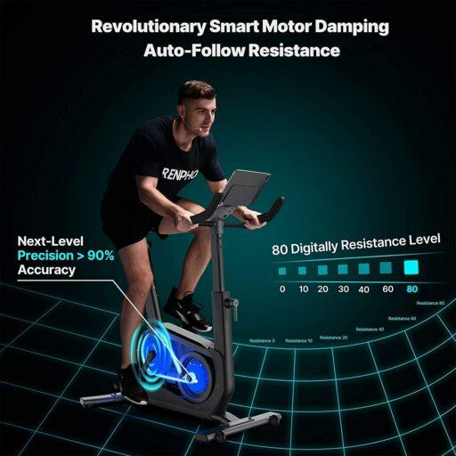 RENPHO R-Q002 AI-Powered Upright Bike