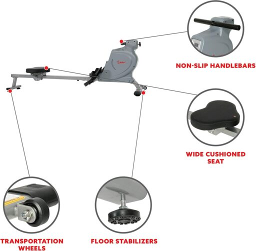 Sunny SF-RW5987 Magnetic Rowing Machine