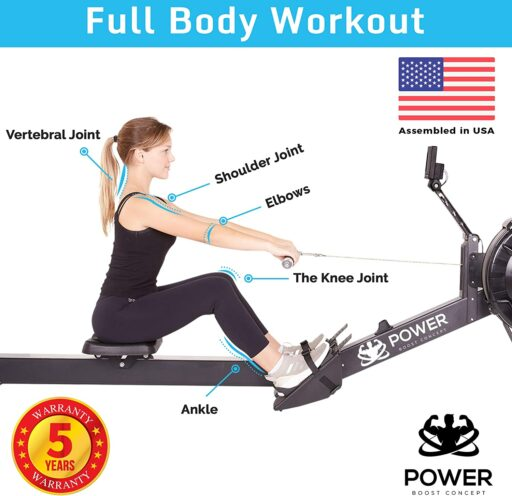 PowerBoostConcept Rowing Machine